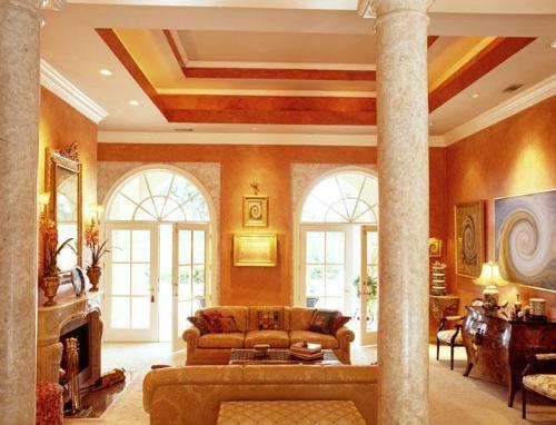 Living Room Ceiling | Living Room Ceiling Designs | Living Room ...