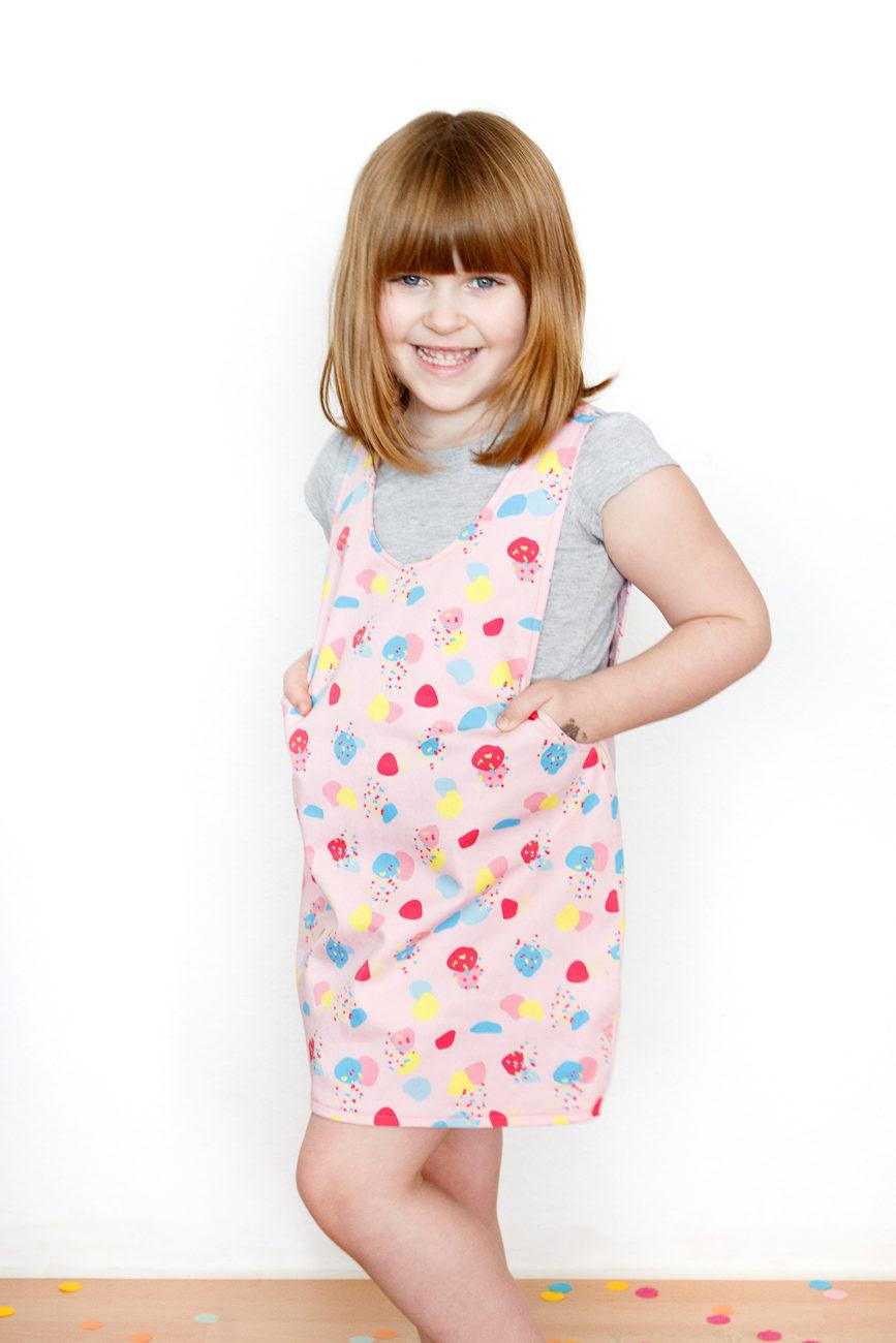 diy frühlings-hop - schnittmuster für ein wendekleid
