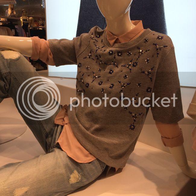 HampM jeweled Sweatshirt