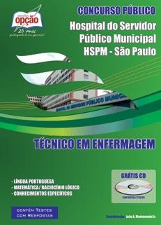 HSPM - SP-TÉCNICO EM ENFERMAGEM