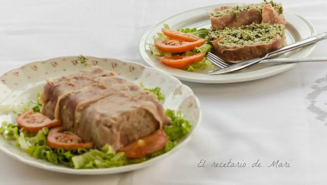 pastel de pollo y espinacas 3