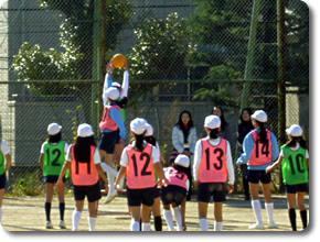 ポートボール大会 兵庫県私立小学校連合会
