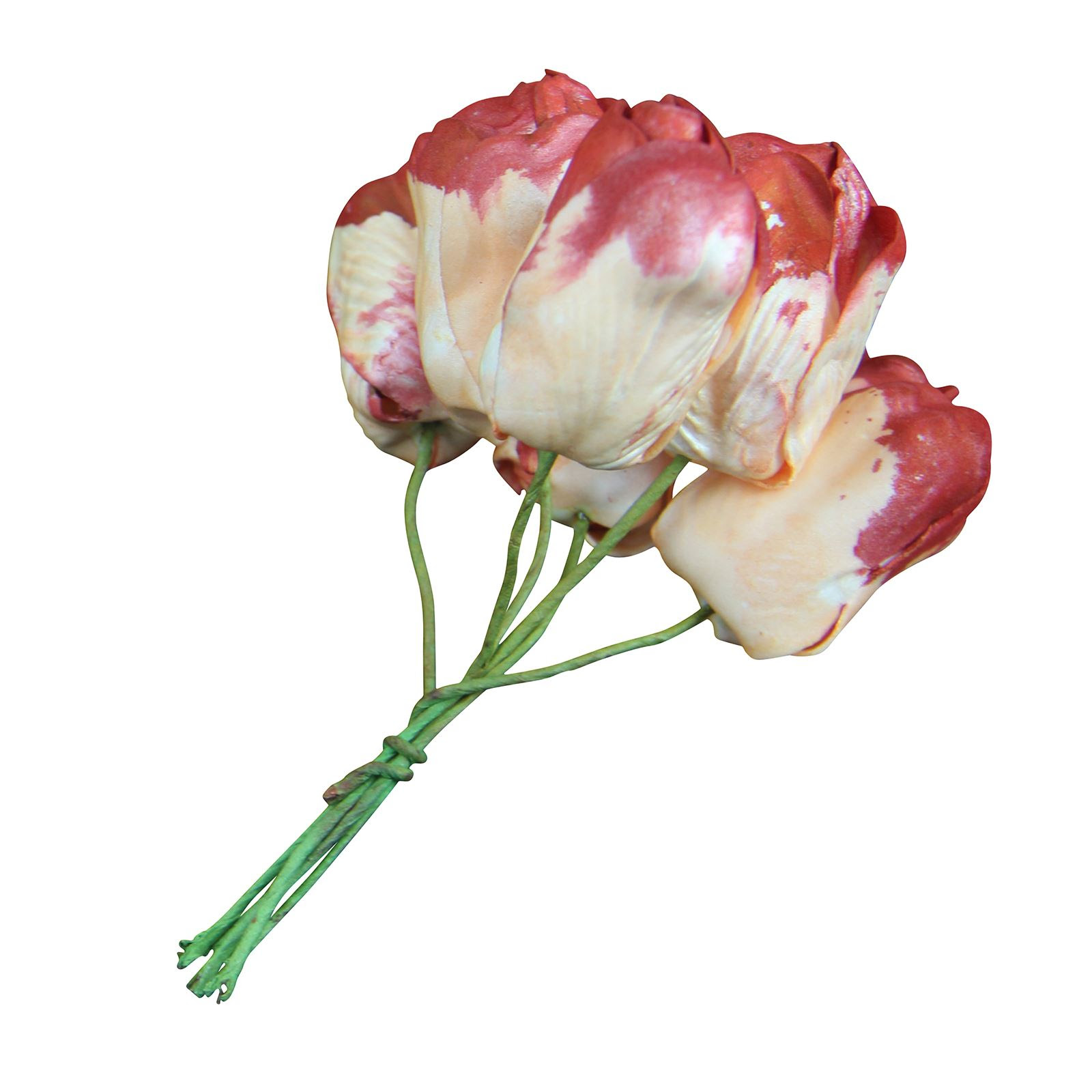 6x Bunches of 6 Foam Tulips! Wholesale Artificial Flowers Fake Bridal Bulk  eBay