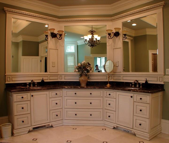 Get Inspired For Master Bathroom Bathroom Mirror Ideas For Double Vanity Photos