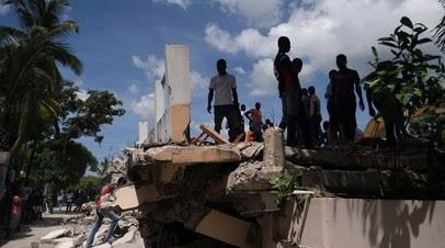 Число жертв землетрясения вГаити возросло до1419