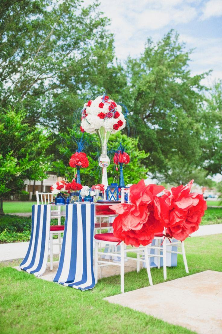 Eclectic Red White And Blue Wedding Ideas 2137426 Weddbook