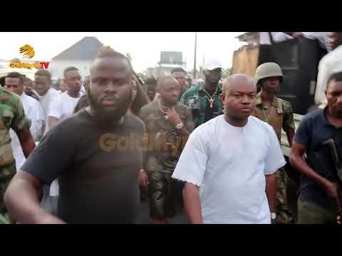 Davido And Chioma Visitation To Ooni Of Ile Ife
