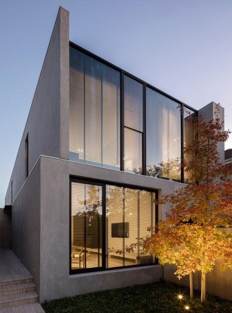 Davidov partners completes concrete house in melbourne d coration de la maison - La maison trojan melbourne ...