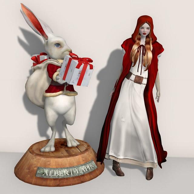 Free Mesh Rabbit Decor & Avatar!