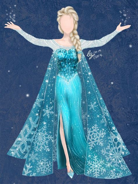 elsa dresses   Elsa's Dress   Disney's FROZEN by