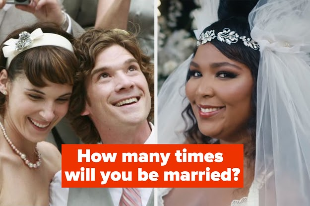 Plan A Wedding And We'll Reveal How Many Times You'll Be Married