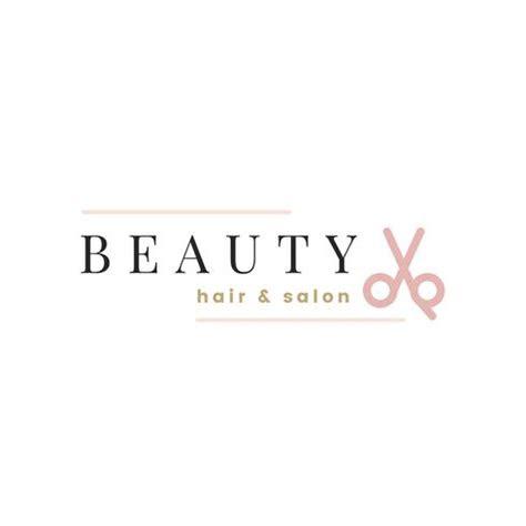 beauty salon logo design vector   vector art