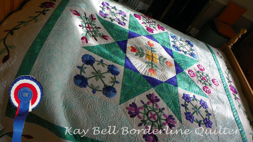 Quilts UK Malvern  rosette