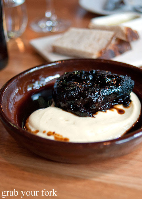 beef cheek at movida sydney