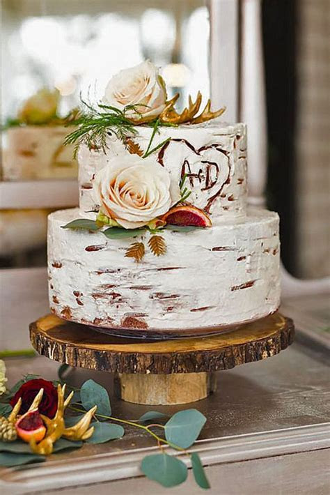 10 Awesome Rustic Wedding Cake Ideas For Sweet Wedding