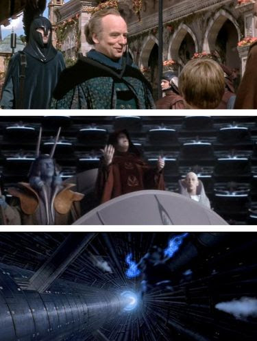Star Wars Saga (from a Palpatine point of view)