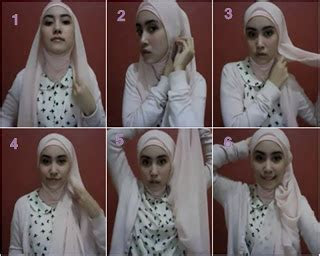kumpulan gambar  memakai jilbab aneka model hijab