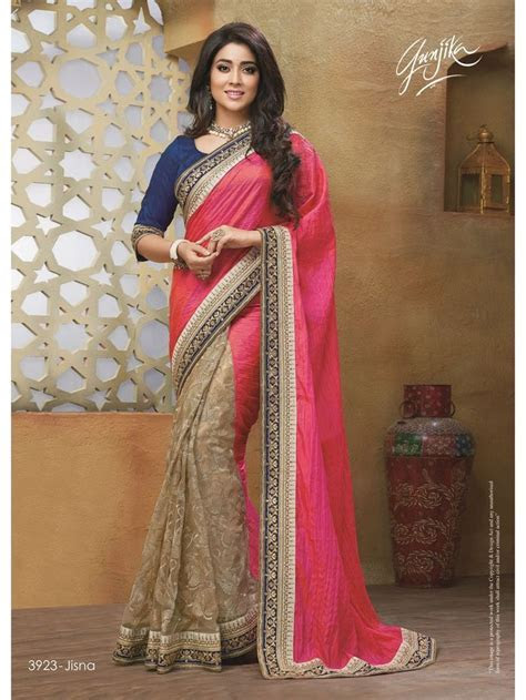 17 Best images about Half and Half Saree on Pinterest
