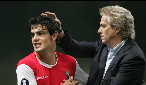 Jorge Jesus e Luis Aguiar - Heerenveen 1 - Braga 2