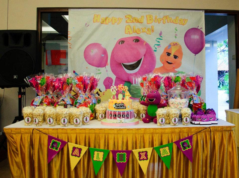 Barney And Friends Birthday Party Decorations Home Party Ideas