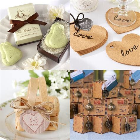 Creative Wedding Favors   MODwedding
