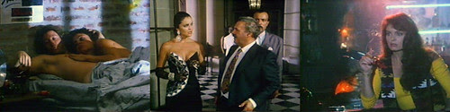 Jack Wagner, Tracy Scoggins y Rodolfo Ranni en 'Play Murder for Me'