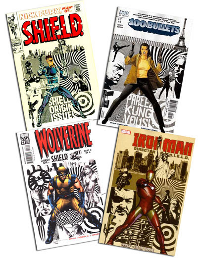 Nick Fury #4/100 Bullets #12/Wolverine #27/Iron Man: Director of SHIELD