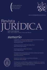 Revista Jurídica de Canarias