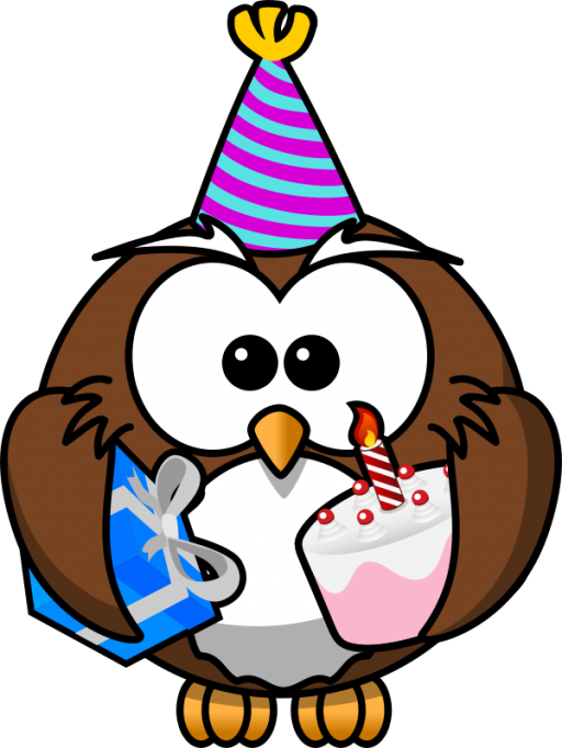 Happy Birthday Owl Icon Png Clipart Image Iconbugcom