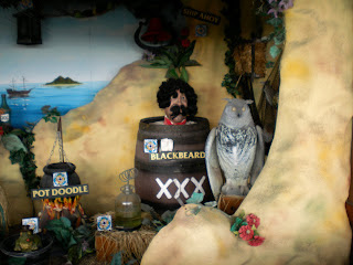 The Treasure Cove shooting gallery at Blackbeard's Treasure Island in Eastbourne