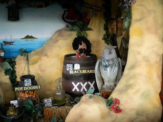 The Treasure Cove shooting gallery at Blackbeard's Treasure Island in Eastbourne
