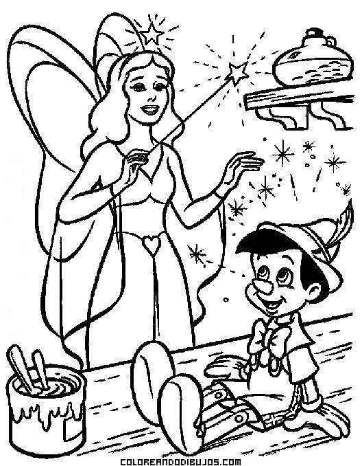 Pinocho Se Convierte En Un Niño De Verdad