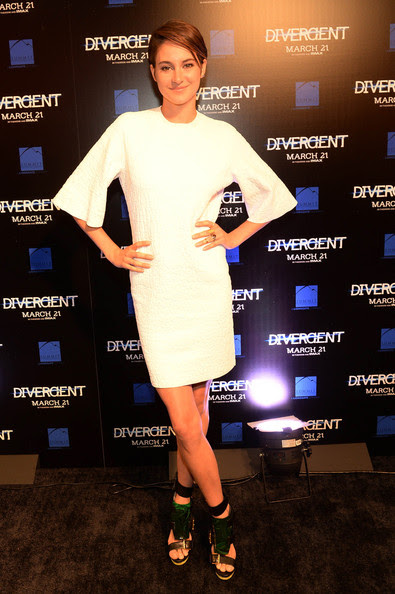 "Shailene Woodley - Summit Entertainment ""Divergent"" Special Screening Event - Red Carpet"