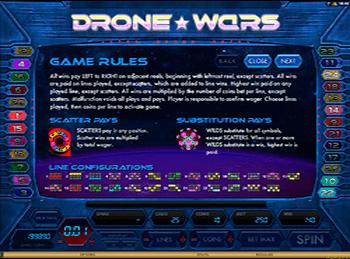 Игровой автомат Drone Wars (Войны Дронов) бесплатно Бои будут проходить на барабанах онлайн игрового автомата Drone Wars производства Microgaming.Играйте в .Дубна