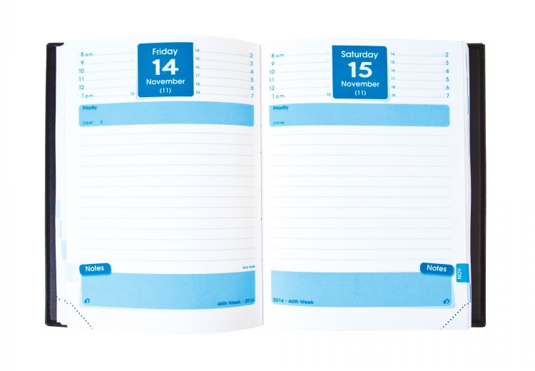 Quo Vadis Notor Daily Planner Diary Refill 2017