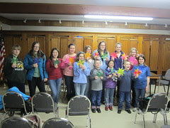 4-H Club with Finished Stars