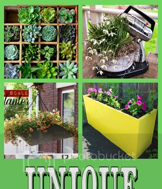 Junk Garden Ideas 2018 Edition: DIY Home Sweet Home