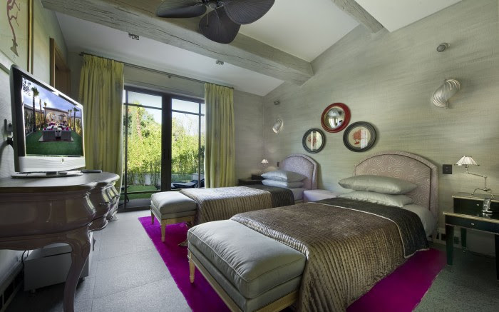 seafoam green bedroom