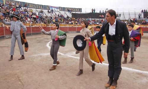 Festival taurino en Villa María del Triunfo