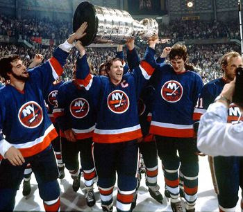 New York Islanders celebration
