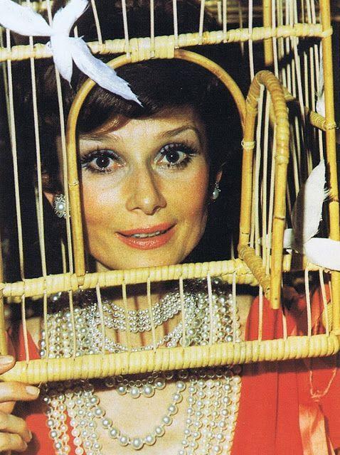 1972 Surrealiste Ball Audrey Hepburn