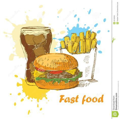 Fast Food Background Royalty Free Stock Images   Image