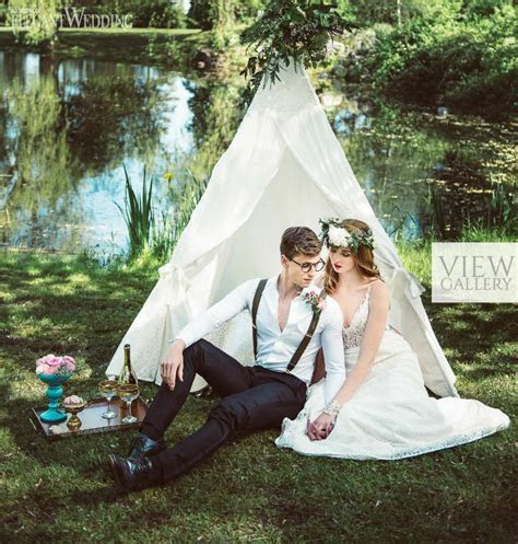 Bohemian Teepee Wedding Ideas   ElegantWedding.ca