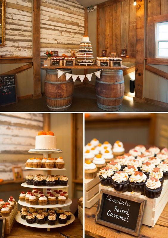 20 Best Of Fall Wedding Cupcake Ideas Roses Rings Part 2