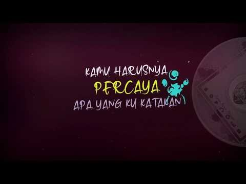 Lyrics Video Typography (Chandhika - Kamu Harus Percaya) Jasa Video Lirik Murah