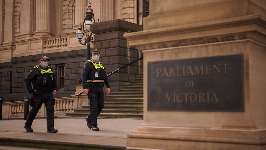 Victoria the first Australian state to bar unvaccinated MPs from its parliament