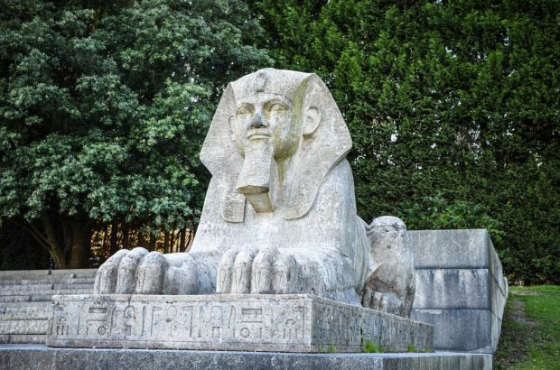 Sphinx in Crystal Palace Park, London