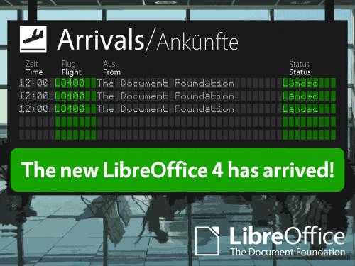 libreoffice 4 0 500x375 Cómo instalar LibreOffice 4.0 en Ubuntu, Fedora y openSUSE