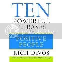 10 วลีทรงพลังสำหรับคนคิดบวก