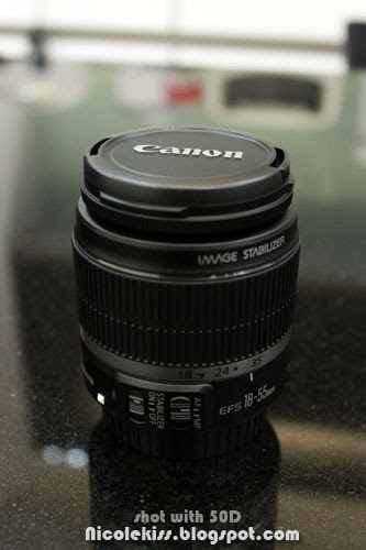 18-55mm canon lens